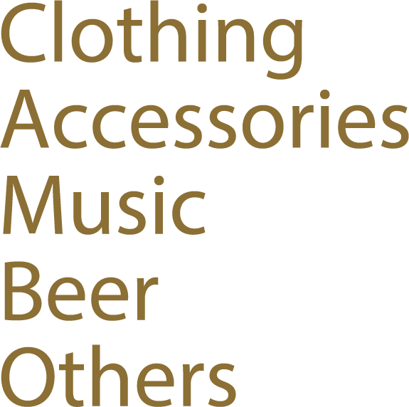 Clothing Accessories Music Beer Others